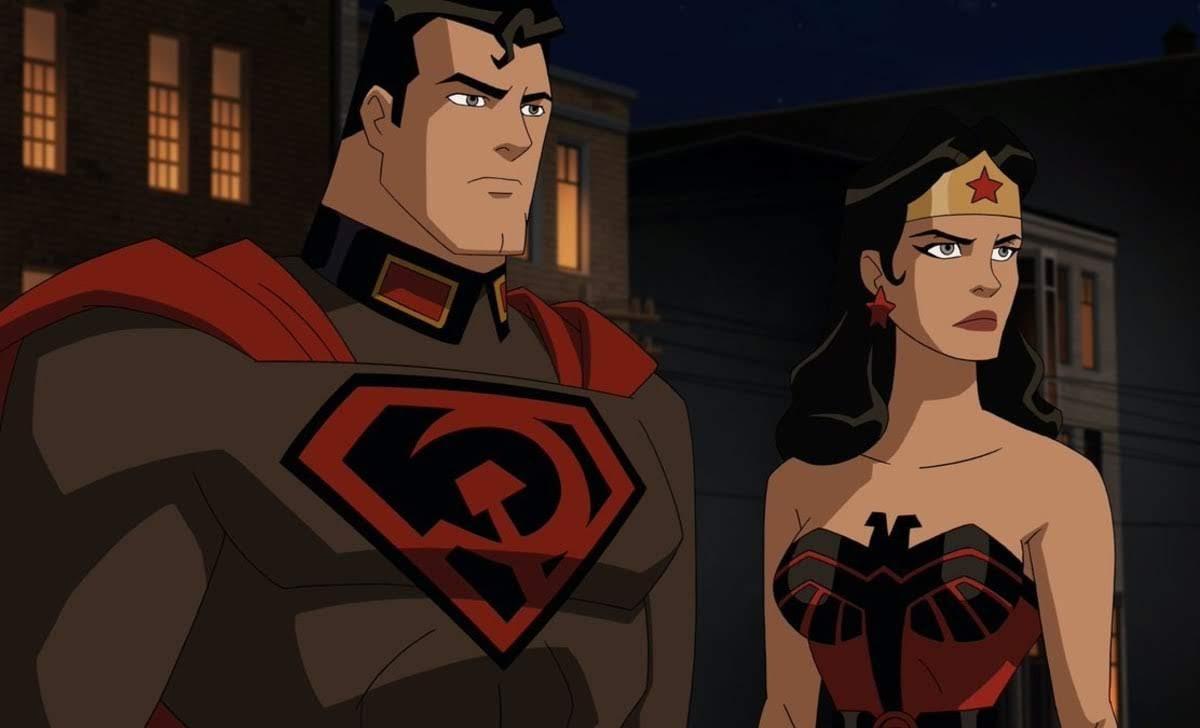 Superman Red Son : DC ユニバースのオリジナル・アニメ映画の最新作「スーパーマン : レッド・サン」の予告編 ! !