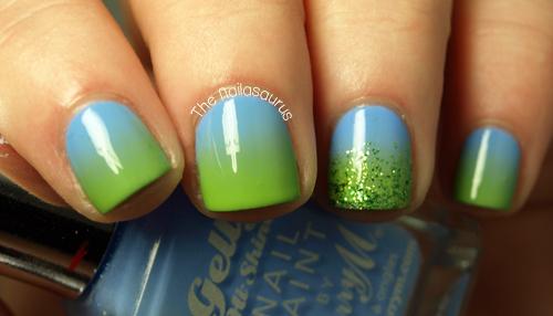Summer Gradient The Nailasaurus Uk Nail Art Blog