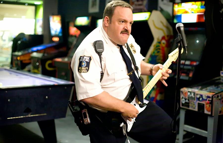 Kevin James în Paul Blart: Mall Cop