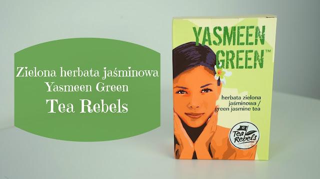 RECENZJA: Zielona herbata jaśminowa Yasmeen Green | Tea Rebels