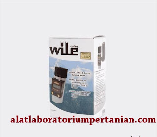 Alat Ukur Kadar Air Kopi dan Kakao : Wile Coffee and Cocoa Moisture Meter.
