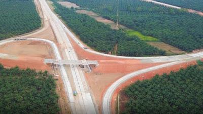 KABAR BAIK, Jalan Tol Kuala Tanjung-Tebingtinggi-Parapat Tuntas Akhir 2021