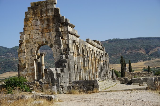 Exploring the ancient Roman City of Volubilis