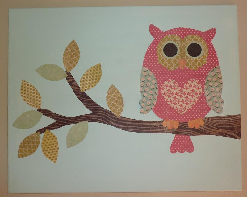No time to be bored: DIY Owl Nursery