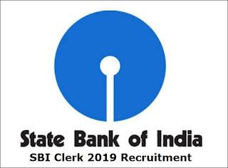 SBI Recruitment 2019 / 8904 Clerk / Junior Associate (Customer Support & Sales):