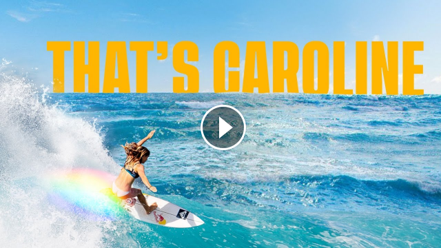 The Story of Caroline Marks and Her Rise to Surfing s Top Ranks THAT S CAROLINE