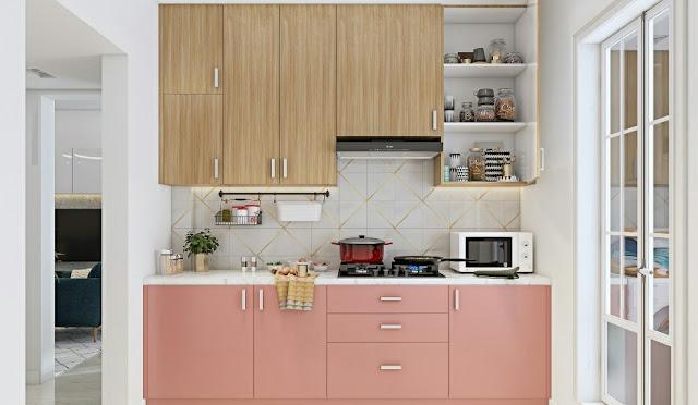 A Modern Rustic 2 BHK Home Design
