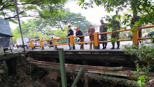 Masif Progres Citarum, Kolonel Eppy Meninjau Jaring Sampah Yang Jebol