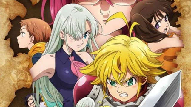 Anime 'Nanatsu no Taizai: Kamigami no Gekirin' Mengungkapkan PV Terbarunya
