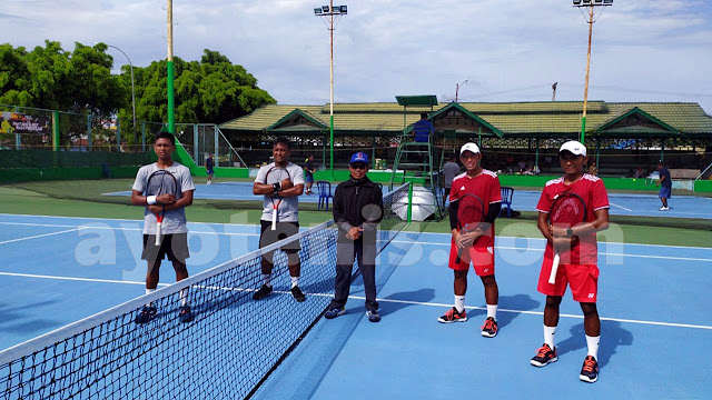 Kejuaraan Tenis KONI Kukar Open 2020: Inilah Finalis GPA Bebas