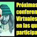 Próximas Conferencias (Virtuales) En Las Que Participaré