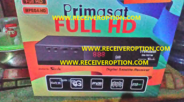 PRIMASAT PH7571N FULL HD RECEIVER POWERVU KEY NEW SOFTWARE