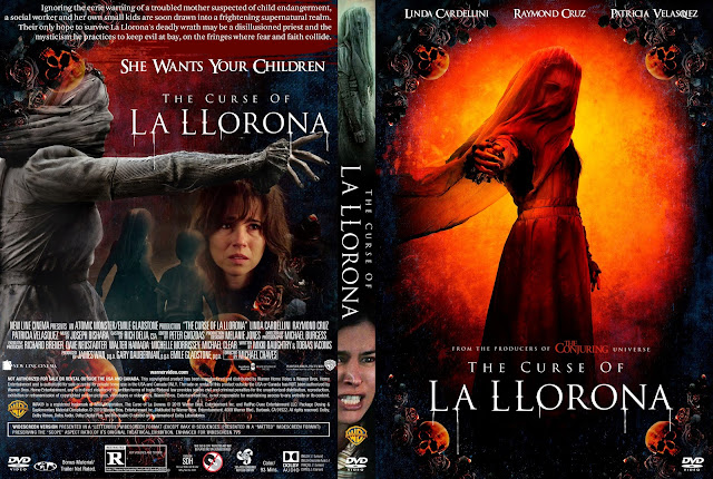 The Curse of La Llorona DVD DVD Cover