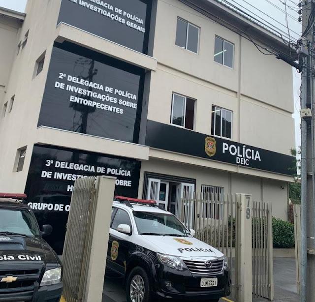 Criminosos amarram segurança em poste de iluminação durante roubo  -  Adamantina Notìcias