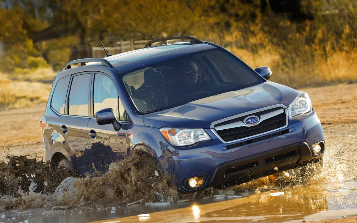 2014 Subaru Forester Widescreen HD Wallpaper 9