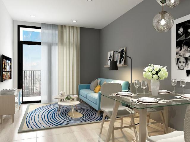 Sofa cho phòng khách nhỏ bài trí trong không gian phòng khách gia đình