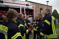 Übung Feuerwehr-Knoten