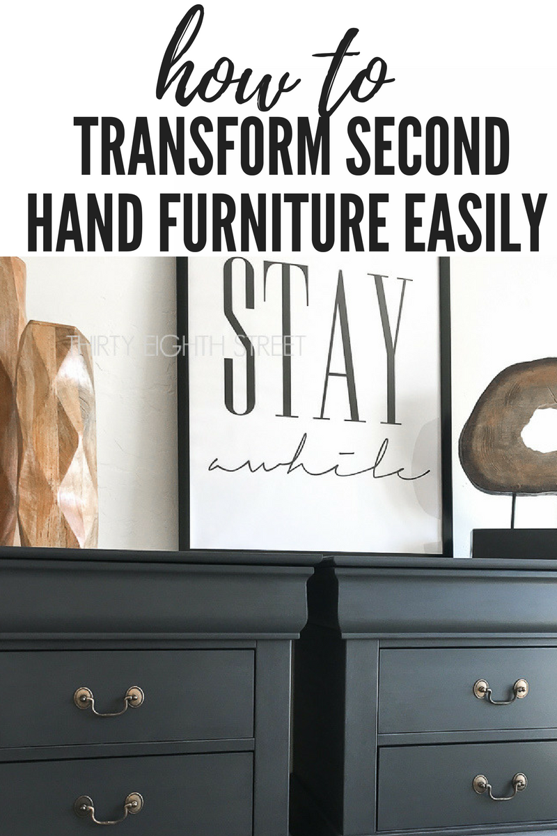 How To Transform Second Hand Furniture Easily  Thirty