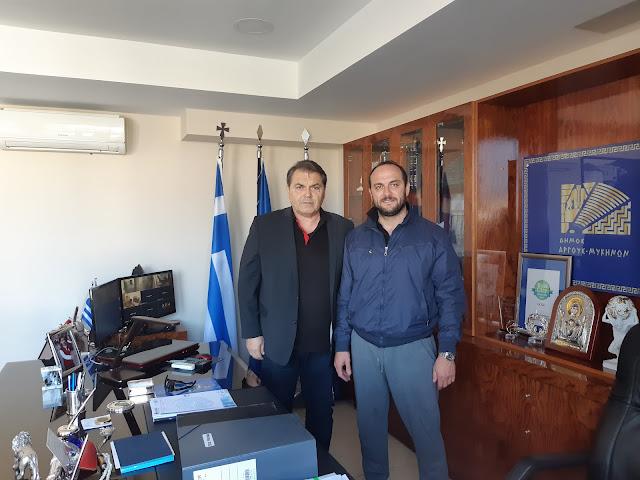 Το Κέντρο Υγείας Άργους ευχαριστεί  τους Δ.Καμπόσο και τον Γ. Σαρρή