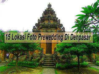 Inilah 15 Lokasi Foto Prewedding Di Denpasar