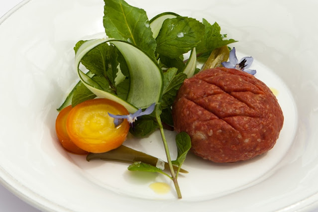 Kibbeh Nayee - beef fillet tartare