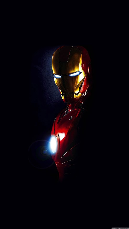 Iron Man Arc Reactor Glow  Galaxy Note HD Wallpaper