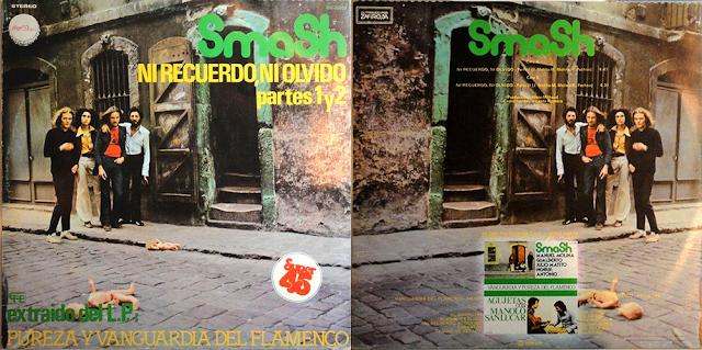 SAMASH NI RECUERDO NI OLVIDO CHAPA DISCOS