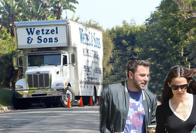 Ben Affleck is finally Moving Out of The Family Home following their Divorce with his wife Jennifer Garner