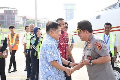 Acara Pengantaran Ketua DMI Disambut Dan Dihadiri Langsung Oleh Kapolda Jambi