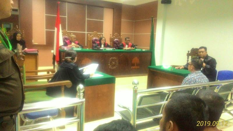 2 Kali JPU Tidak Dapat Hadirkan Kelvin Hong, Hakim Tunda Sidang Amat Tantoso