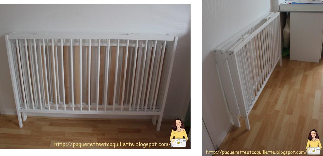 paquerette et coquillette un lit pliant oui mais en bois. Black Bedroom Furniture Sets. Home Design Ideas