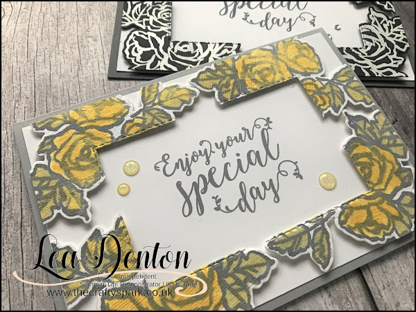 Stampin' Up! Floating Frame Petal Palette Card | Video Tutorial