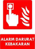 Rambu Alarm Darurat Kebakaran