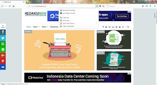 Mengambil tangkapan layar penuh sebuah website