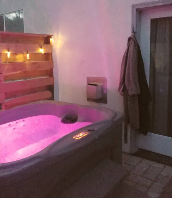 DIY Hot Tub Privacy Screen