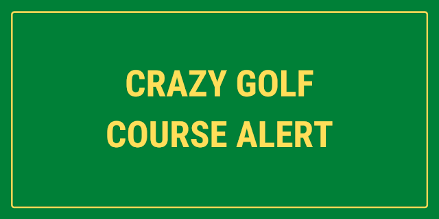 There's a crazy golf course at York Maze