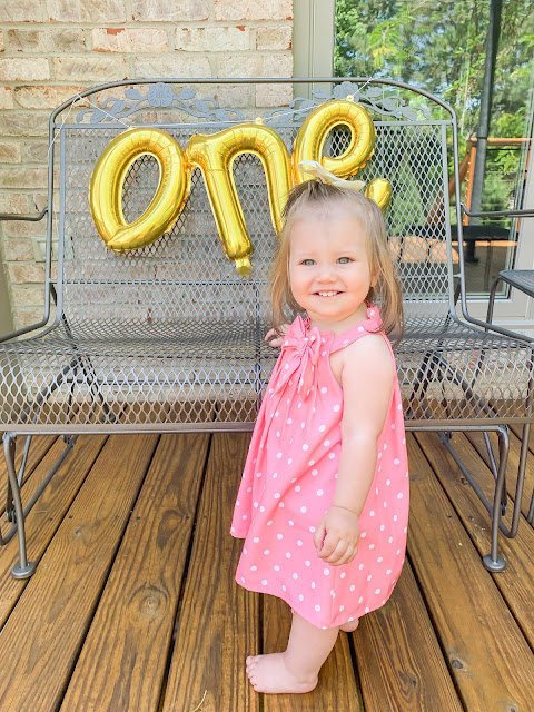 Baby Girl is One!!!