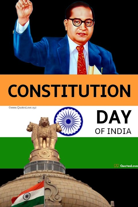 11+ [Best] Constitution Day Of INDIA 2020: Quotes, Sayings, Wishes, Greetings, Images, Pictures, Poster