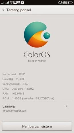Versi Color OS Amber