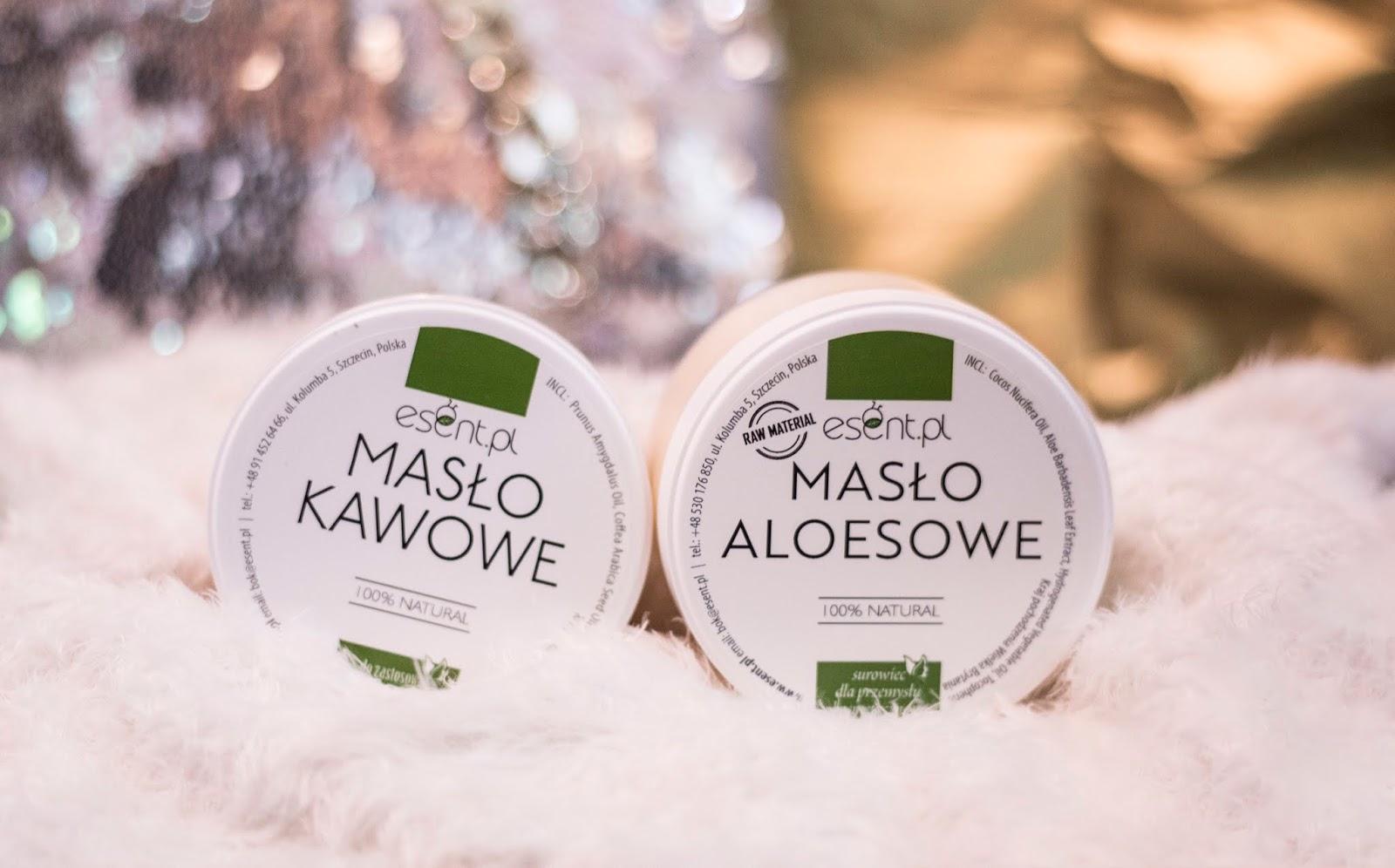 Masło aloesowe i kawowe - czyli jak polubić się z masłami!