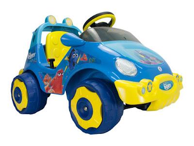 TOYS : JUGUETES - DISNEY Buscando a Dory  Racing Car : Coche eléctrico con batería y motor de 6v  Injusa 2016  Producto Oficial 2016 | Injusa 71044  Comprar en Amazon España