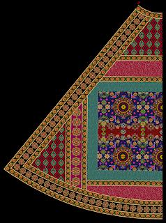 Ghaghra Choli Design Back2 2488