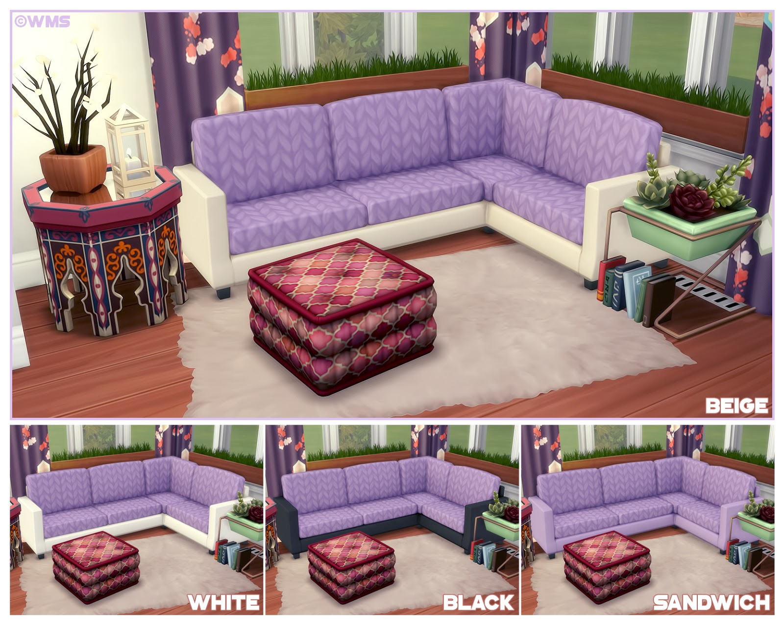 Sims 4 Dylan Sofa Beds Sim Man123 S Easton Wrap Around Sofa Recolours