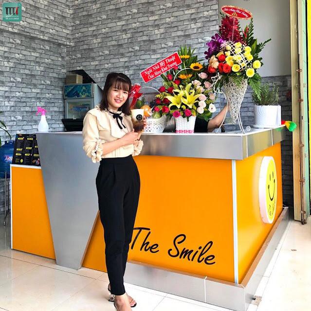 chuc mung khai truong quan the smile