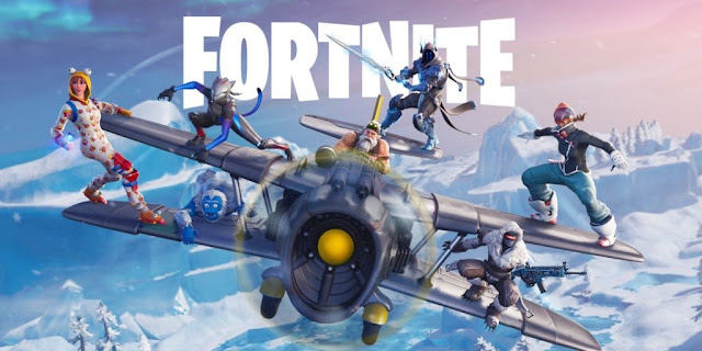 Fortnite mobile wallpaper
