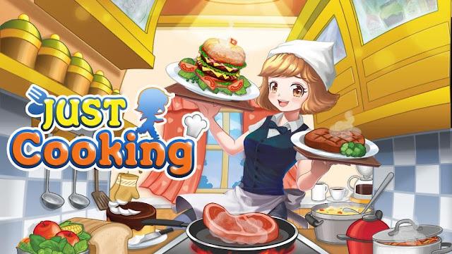 Just Cooking Hileli APK - Para Hileli APK