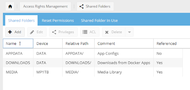 Show Absolute Path of a Shared Folder in OpenMediaVault