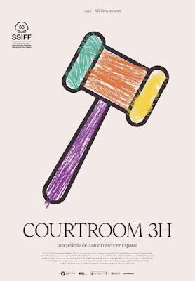 Sala de juzgado 3H - Cartel