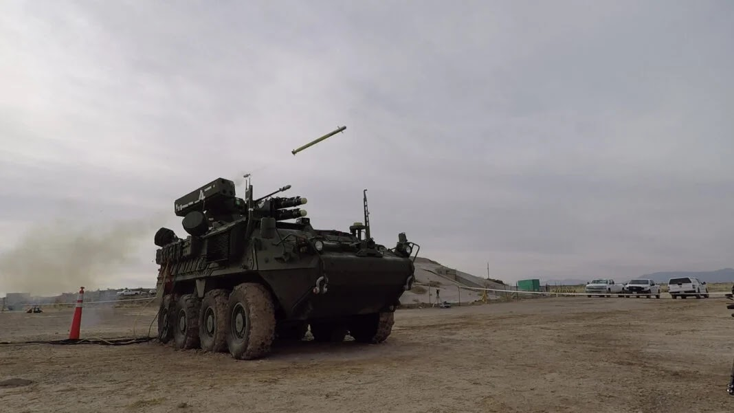 General Dynamics показала випробування Stryker IM-SHORAD