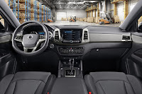 SsangYong Musso (2018) Dashboard
